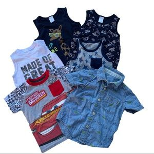 Gymboree, Gap, Carter's, & Disney Toddler Shirts